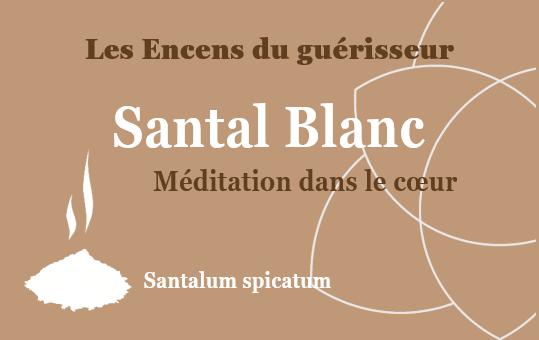 santal Blanc encens