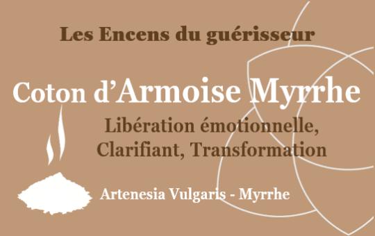 Coton Armoise Myrrhe Encens