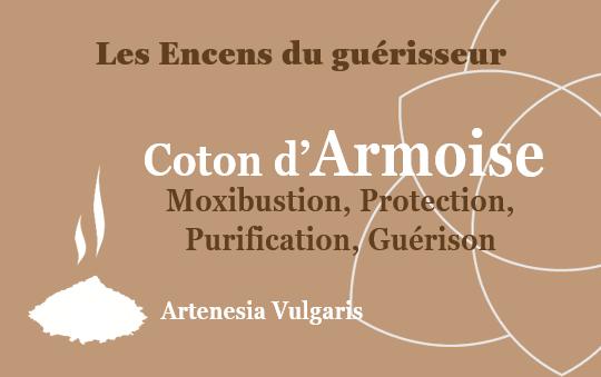 Coton armoise Encens