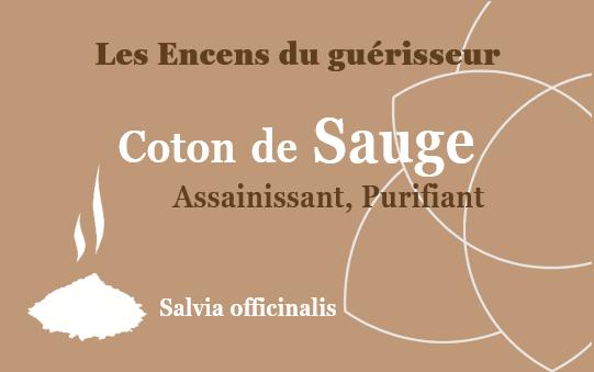Coton de Sauge Encens