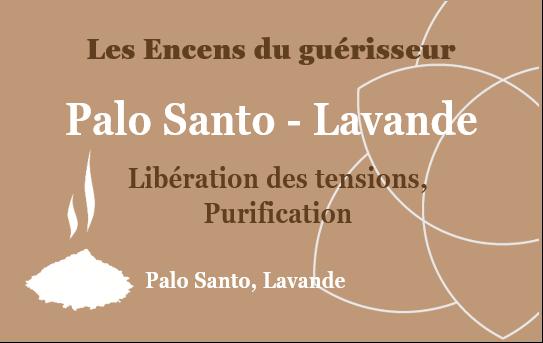 Coton Palo Santo - Lavande